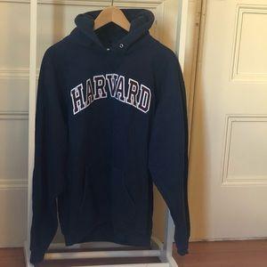 Harvard hoodie, embroidered. Missing string.